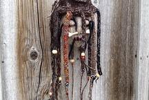 Shrunken head Voodoo Knits / Voodoo, crochet, shrunken heads