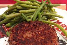 Steak de haricots rouge
