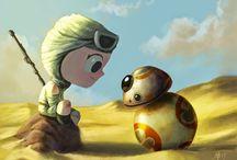 Star Wars / Há muito tempo numa galáxia muito, muito distante....    - I love you!  - I know!.