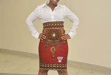 African inspired skirts