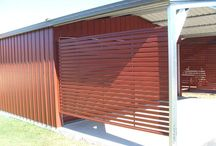 Carport & Garage Screens / Secure your garage with strong, durable garage screens in a range of colours & styles. We can customise designs to suit your home.
