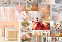 Peach wedding theme ideas