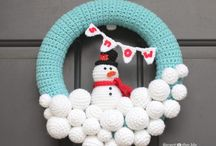 Yarn Wreaths crochet