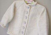 Another baby cardigan