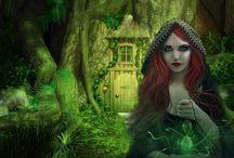 Magic, mythology, fairytales