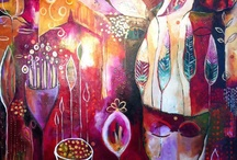 Artist and there work I love! / These artist that I find inspirational and their work makes my heart go pitter -patter! / by Tracy Hines