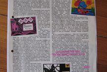"""M. Musierowicz- Frywolitki (artykuły z czasopisma dla dziewcząt """"Filipinka"""")"""