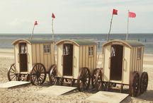 Sheds and caravans