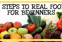#JustEatRealFood: Tips & Tools / Eating real, organic, whole food can be a bit challenging, unless you know the how tos! Get tips and tools for how to eat real food on any budget and time schedule!