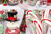 Candy bar navideño