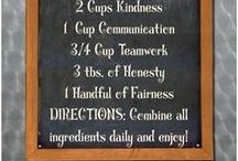 Recipe for success school theme