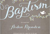 invito baptism