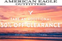 American Eagle Outfitters UK Coupon Codes / American Eagle Outfitters UK provides you exclusive & wide-ranging collection of Apparel for Men & Women specifically dealing with High Quality Clothing including t-shirts, jackets & coats, undies, jeans, sweatshirts, hoodies, accessories & more. American Eagle Outfitters UK tends to follow the trend that Modern World needs for styling with comfortable & affordable price.For more American Eagle Outfitters UK Coupon Codes visit: http://www.couponcutcode.com/stores/american-eagle-outfitters-uk/