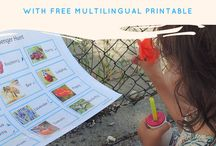 Language / Language activities to do with toddlers and preschoolers. Raising multi-lingual children.