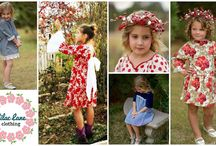 Boutique's Best Winter Wonderland Event / Little girl and toddler fashion. Handmade with love in the USA. Proudly made in Kansas. Beautiful dresses for the discerning child. Facebook.com/boutiquesbest / by Lilac Lane Patterns