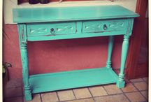 Muebles recuperados - Upcycled forniture / Vida nueva para tus viejos muebles - Bring new life for your old forniture
