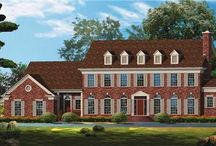 The Georgian Home Design / Elegance, symmetry and impressive curb appeal define the Georgian house style.   http://bit.ly/georgianhome