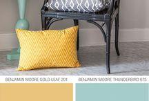 Grey/yellow bedroom / by Nicole