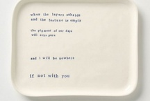 i want / by Maura Carney