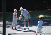 Tennis at La Canada Flintridge Country Club