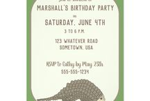 Pangolin Themed Birthday Party