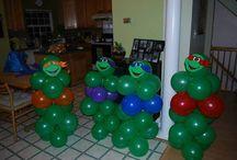 Aidens third birthday party / by Katie Davis