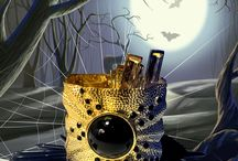 Bracelet Monsters On Parade! / #bracelet #jewelry #halloween #monsters #parade #cute / by Amrita Singh Jewelry
