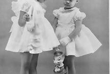 Children and pretty clothes