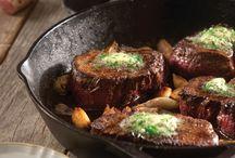 George's best skillet steak
