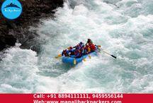 River Rafting in Manali / Enjoy adventurous water sports in Manali.