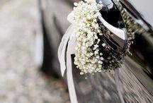 Car wedding decorations