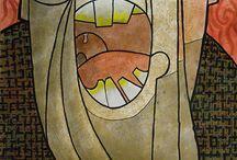 Francisco Lezcano Lezcano / Obras de arte realizadas por el artista grancanario Francisco Lezcano Lezcano