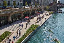 Urban Water Landscape