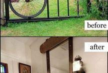 Bike repurposed