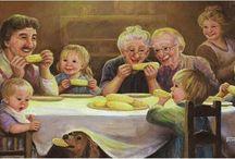 Bij Opa en Oma