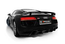 NOWOŚĆ: Wydech Remus dla Audi R8 V10 Plus / Nie zwalniamy tempa z kolejnymi nowościami od REMUS INNOVATION! Tym razem pragniemy zaprezentować sportowy układ wydechowy dedykowany najnowszemu Audi R8 V10 Plus.  Więcej informacji na naszym blogu: http://www.remus-polska.pl/nowosc-sportowy-uklad-wydechowy-z-klapami-dla-audi-r8-v10-plus/  Film z brzmieniem Audi R8 z wydechem Remus: https://www.youtube.com/watch?v=d27O6OB3Wgo  Oficjalny Dystrybutor REMUS INNOVATION Remus Polska - http://www.remus-polska.pl/
