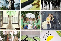 Singing in the Rain - Wedding Seating plans for a rainy day / How to plan for rain on your wedding day! Read more in our rainy day article at http://www.toptableplanner.com/blog/a-wedding-seating-plan-for-a-rainy-day