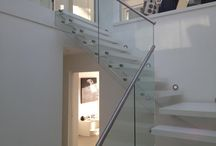Glass Balustrades / We at Bespoke Glass Splashbacks also offer a full range of Glass Balustrades tailored for your home or office. Call to discuss our Glass Balustrades today