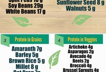 Protein in plant based foods