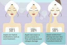 Skin care / Healthy glowing skin