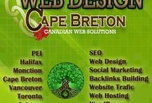 Cape Breton Web Design / http://webdesigncapebreton.com - pics, stories, design ideas re: Cape Breton