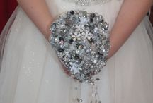 Crystal Bouquets with *Sparkle* / Sparkly fabulous bridal wedding bouquet all colours to suit your wedding theme.These bouquets last forever!