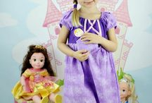 Chameleon Girls Dresses / Disney inspired Everyday Princess Dresses.  Dresses are handmade with love and 100% cotton.