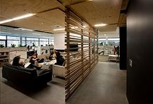 Office ideas / Ideas and inspiration for our new future office.  In the goal of creating a workplace that embodies the feeling of home and is more like a remodeled house than an office.