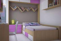 Diseño interior / ¡Espacios funcionales con mucho estilo! Diseños propios.