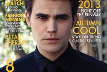 Vampire Diaries Cast Magazine Covers & Features / This board is dedicated to the cast and their magazine covers and features.