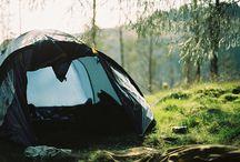 camping. / by Sydney Elizabeth