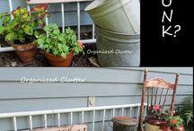 .:*GaRdEn JuNk*:. / Ideas for the garden