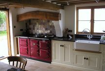 Home improvement / Kitchens with red agas