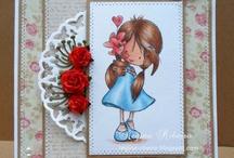 Tiddly Inks digi stamps / my cards